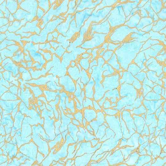 Batiks Sea water batik metallic - BTM8514-SEAX-D