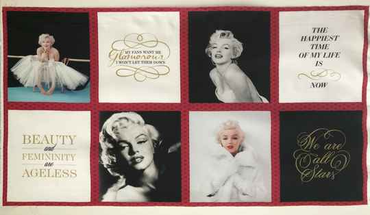 Romantic panel Marilyn Monroe 2 60 x 110 cm