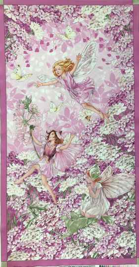 Flower Fairy petal fairy Panel 60x110cm