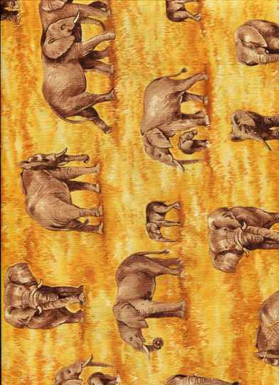 Animals ani 6 long quarter 23x110cm