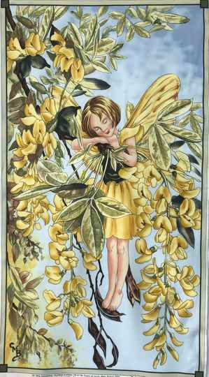 Flower Fairy sunshine Panel 60x110cm
