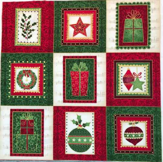 Christmas labels 12