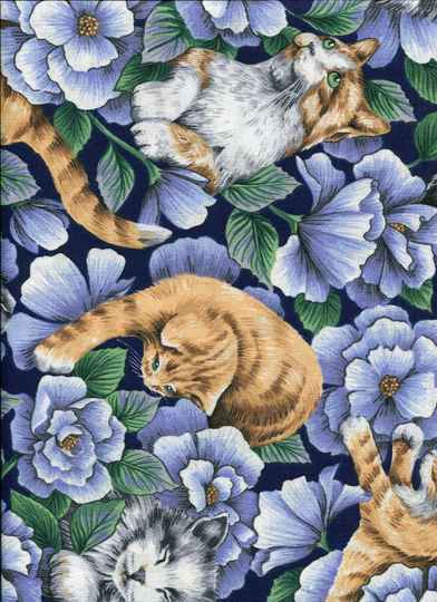 Cats and dogs cat D 40x 110 cm