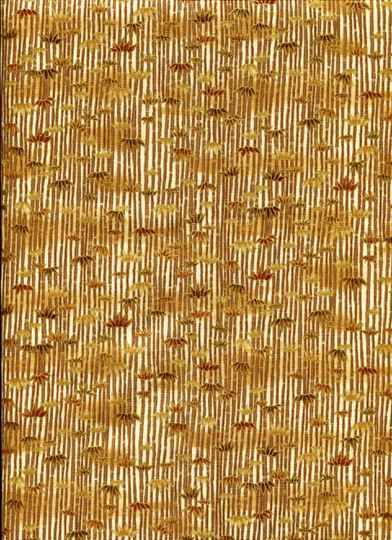 Japanese Bamboo with metallic gold