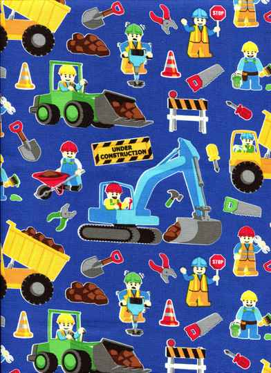 Babies and children road works