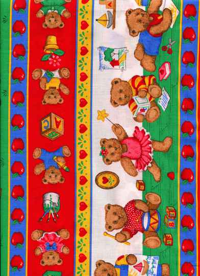 Babies and children bears at school