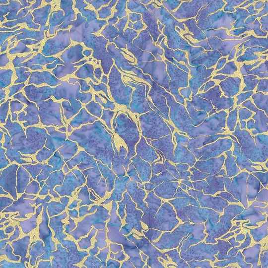 Batiks Sea water batik metallic - BTM8514-AMET-D