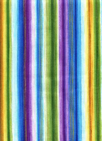 Geometric multicolor stripes with gold