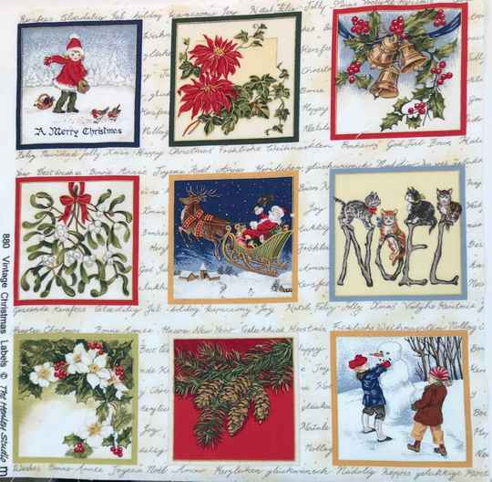 Christmas labels 10