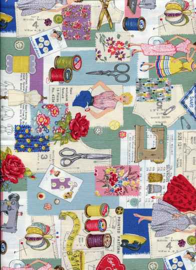 Sewing sew5 long quarter 23x110cm