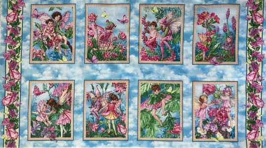 Flower Fairy whisper fairy Panel 60x110cm