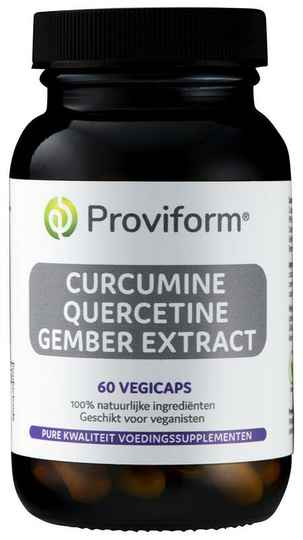 Curcumine quercetine gember extract 60vcaps Proviform