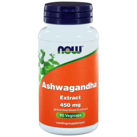 Ashwagandha Extract 450mg 90vcaps NOW