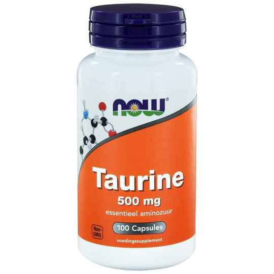 Taurine 500mg 100Vcaps NOW