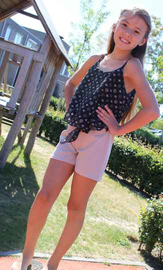 Setje met top en short
