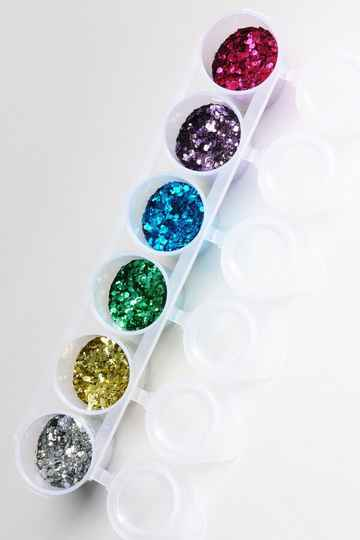 Party Chunky Glitter Mix 6-pack 130 ml