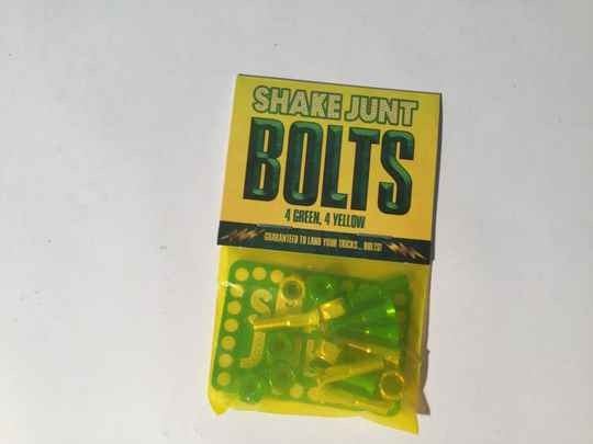 Mounting Bolts  •  Shake Junt!  •  7/8 inch •  Philips