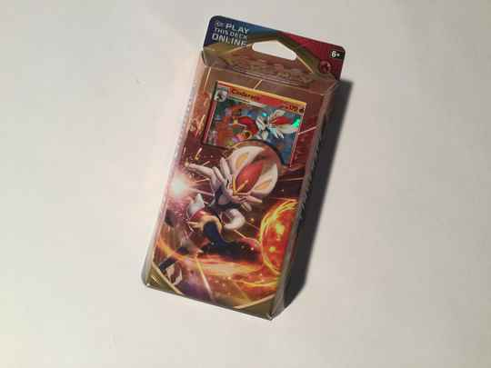 Pokemon • Cinderace • theme deck • Sword and Shield