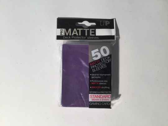 Pokemon • Deck protector sleeves • 1 pack • 50 st • Matte Purple