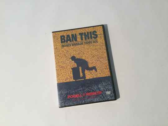 DVD • Skateboard • Powell Peralta • Ban this