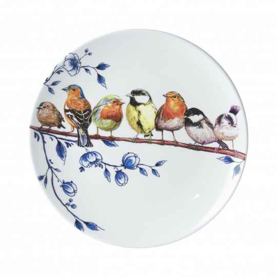 Plate: Forest Birds