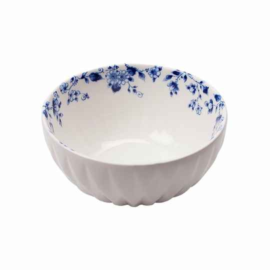 ''Blauw vouw'' dipping bowl