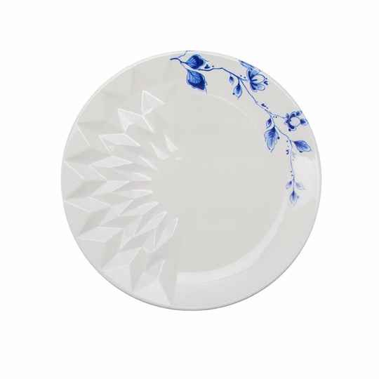 ''Blauw vouw'' butterplate