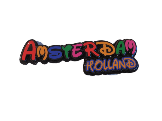 Magnet Amsterdam-Holland letters