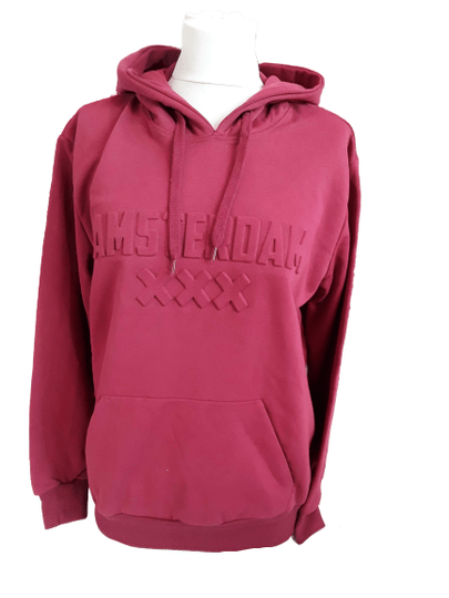 XXX Red Hooded sweater