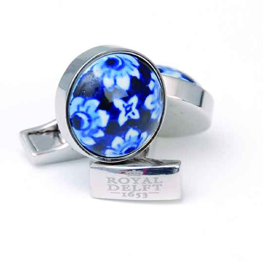 Cufflinks- Royal Delft