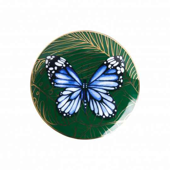 Plate: Butterfly