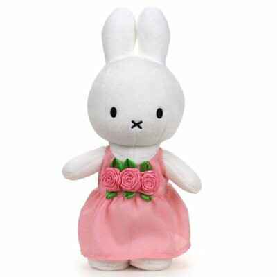 Miffy pink roses dress
