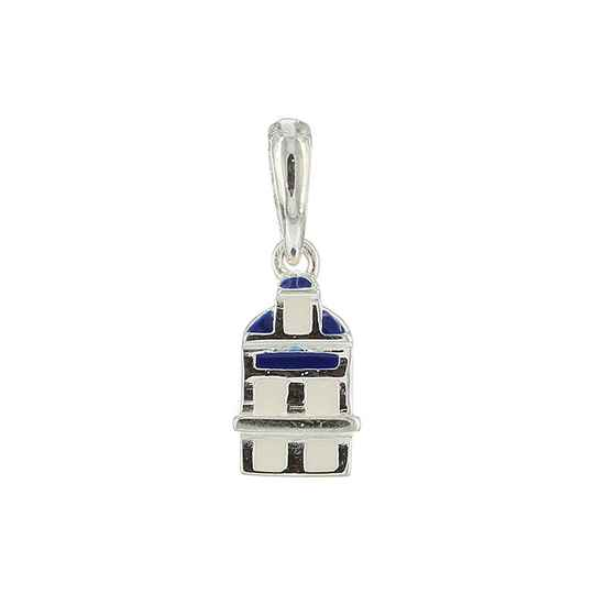 Silver Canal House pendant