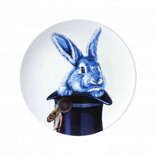 Plate: Rabbit out of the hat