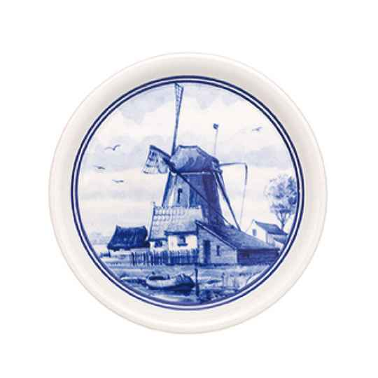 Delft blue coaster windmill