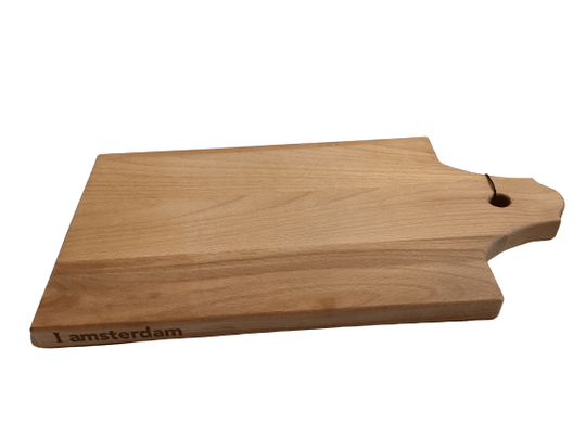 I Amsterdam wooden serving tray