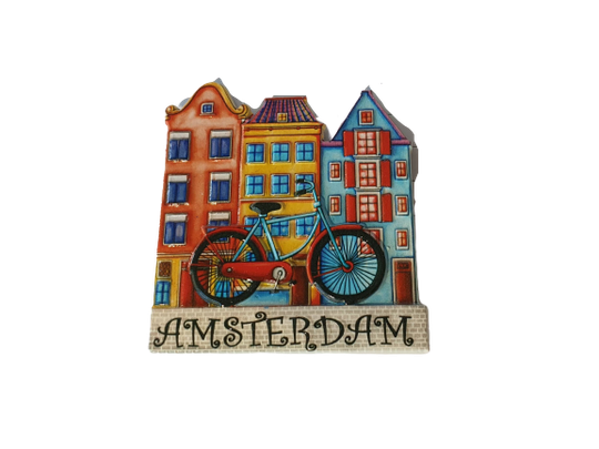 Magnet bike and 3houses