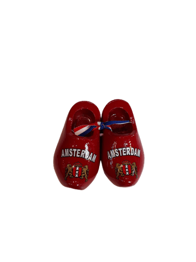 Wooden shoes 8 cm Amsterdam