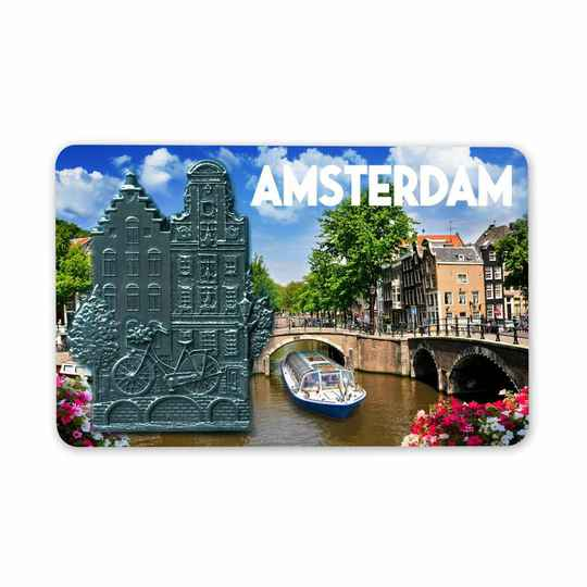 Magnet Amsterdam Canalhouse metal-mdf mix