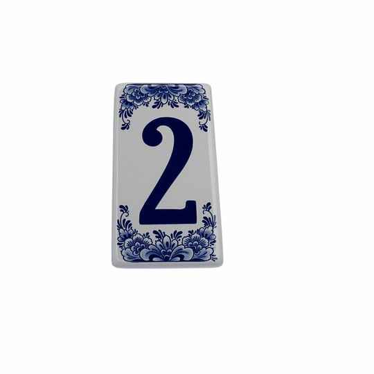 House number sign 2