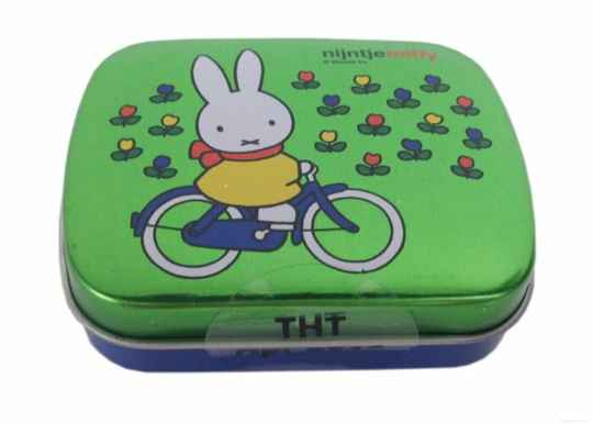 Miffy metal tin with mints
