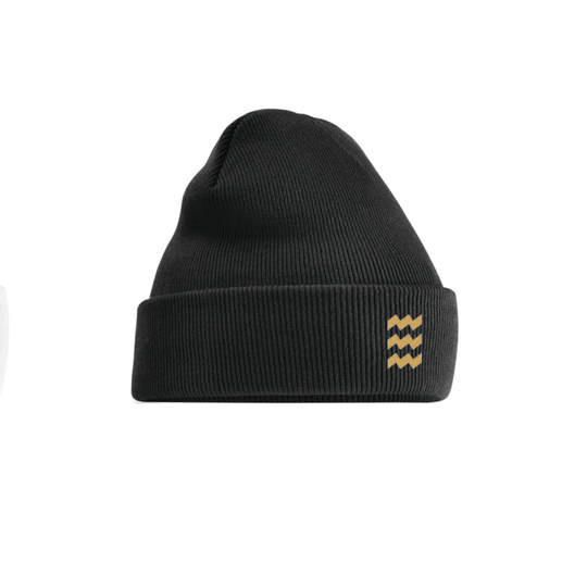 Beanie Black and Gold Eindhoven