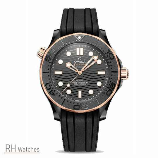 Omega Seamaster Diver 300M Co Axial Master Chronometer 43,5mm.
