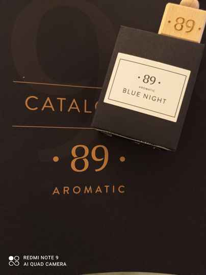 Aromatic 89 blue night carfreshner