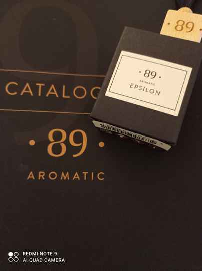 Aromatic 89 epsilon carfreshner