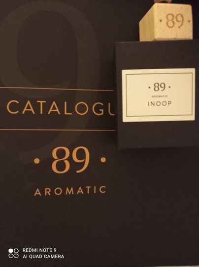 Aromatic 89 inoop carfreshner