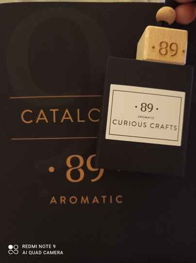 Aromatic 89 curious crafts carfreshner