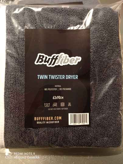 Buffiber twin Twister drying towel