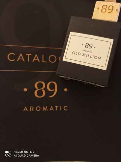 Aromatic 89 old million carfreshner