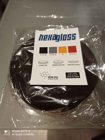 Hexagloss finishing pad